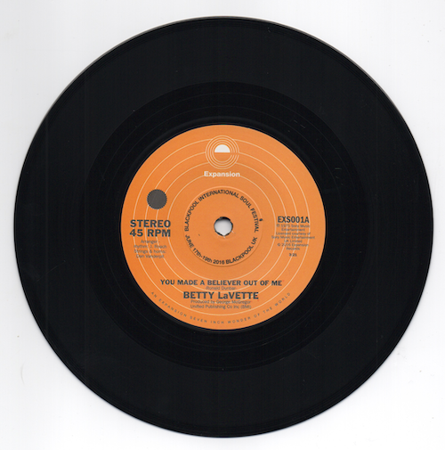 Betty Lavette - You Made A Believer Out Of Me / Thank You For Loving Me 45