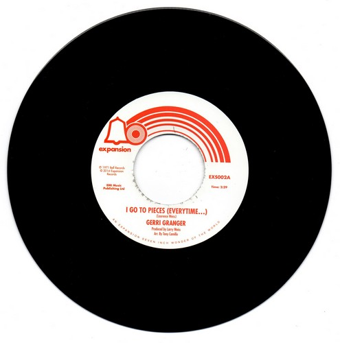 """Gerri Granger - I Go To Pieces (Everytime...) / I Can't Take It Like A Man 45 (Expansion) 7"""" Vinyl"""