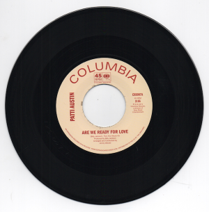 Patti Austin - Are We Ready For Love / Didn't Say A Word 45