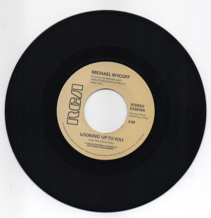 """Michael Wycoff - Looking Up To You / Tell Me Love 45 (Expansion) 7"""" Vinyl"""