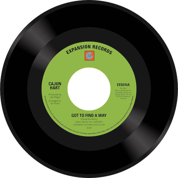 "Cajun Heart - Got To Find A Way / Lover's Prayer 45 (Expansion) 7"" Vinyl"
