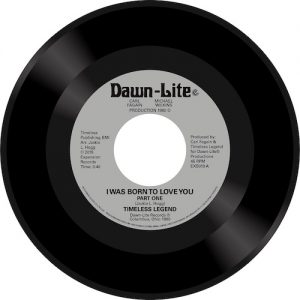 "Timeless Legend - I Was Born To Love You / I Was Born To Love You (Part 2) 45 (Expansion) 7"" Vinyl"