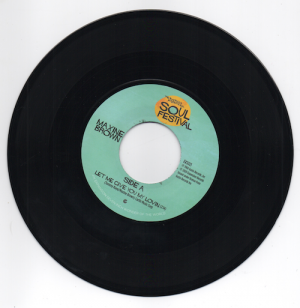 "Maxine Brown - Let Me Give You My Lovin' / One In A Million 45 (Expansion) 7"" Vinyl"