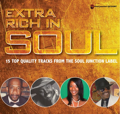 Extra Rich In Soul - Various Artists CD (Soul Junction)