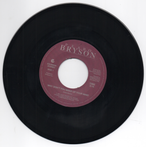"Peabo Bryson - Why Don't You Make Up Your Mind / Paradise 45 (Expansion) 7"" Vinyl"