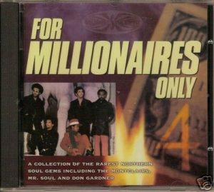 For Millionaires Only Volume 4 - Various Artists CD (Goldmine Soul Supply)