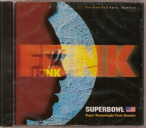 Funk Superbowl - Super Heavyweight Funk Classics -Various Artists CD (Goldmine Soul Supply)