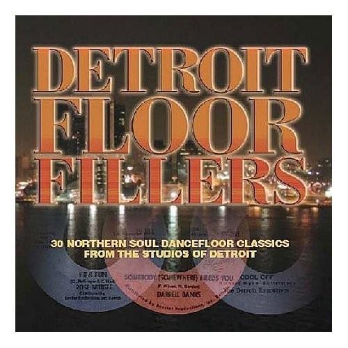 DETROIT FLOORFILLERS 30 Northern Soul Dancefloor Classics From The Studios Of Detroit CD -0