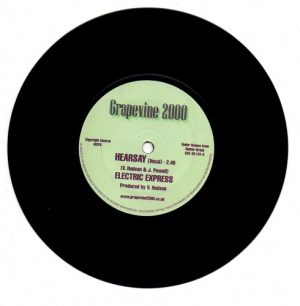 "Hearsay (Vocal) / Hearsay (Instrumental) 7""-0"