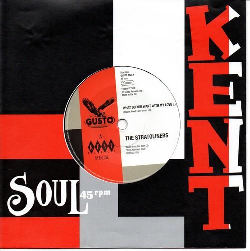 "Stratoliners - What Do You Want / Little Willie John - I'm Shakin 45 (Gusto)7"" Vinyl"