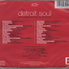 Lou Beatty's Detroit Soul 30 Rare Gems From The Vaults Of La Beat Records CD (Back)