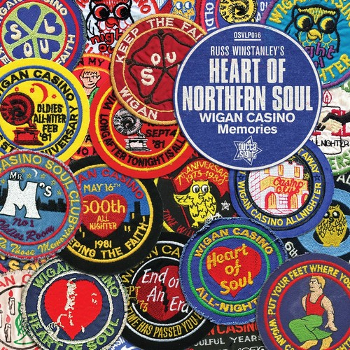 Russ Winstanley's Heart of Northern Soul - Various Artists LP Vinyl (Outta Sight)