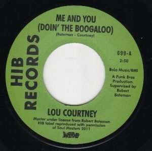 "Me And You (Doin' The Boogaloo) / Give In 7""-0"