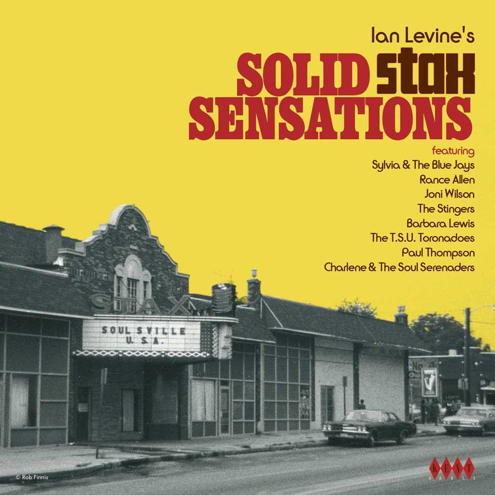 Ian Levine's Solid Stax Sensations – Various Artists CD (Kent)