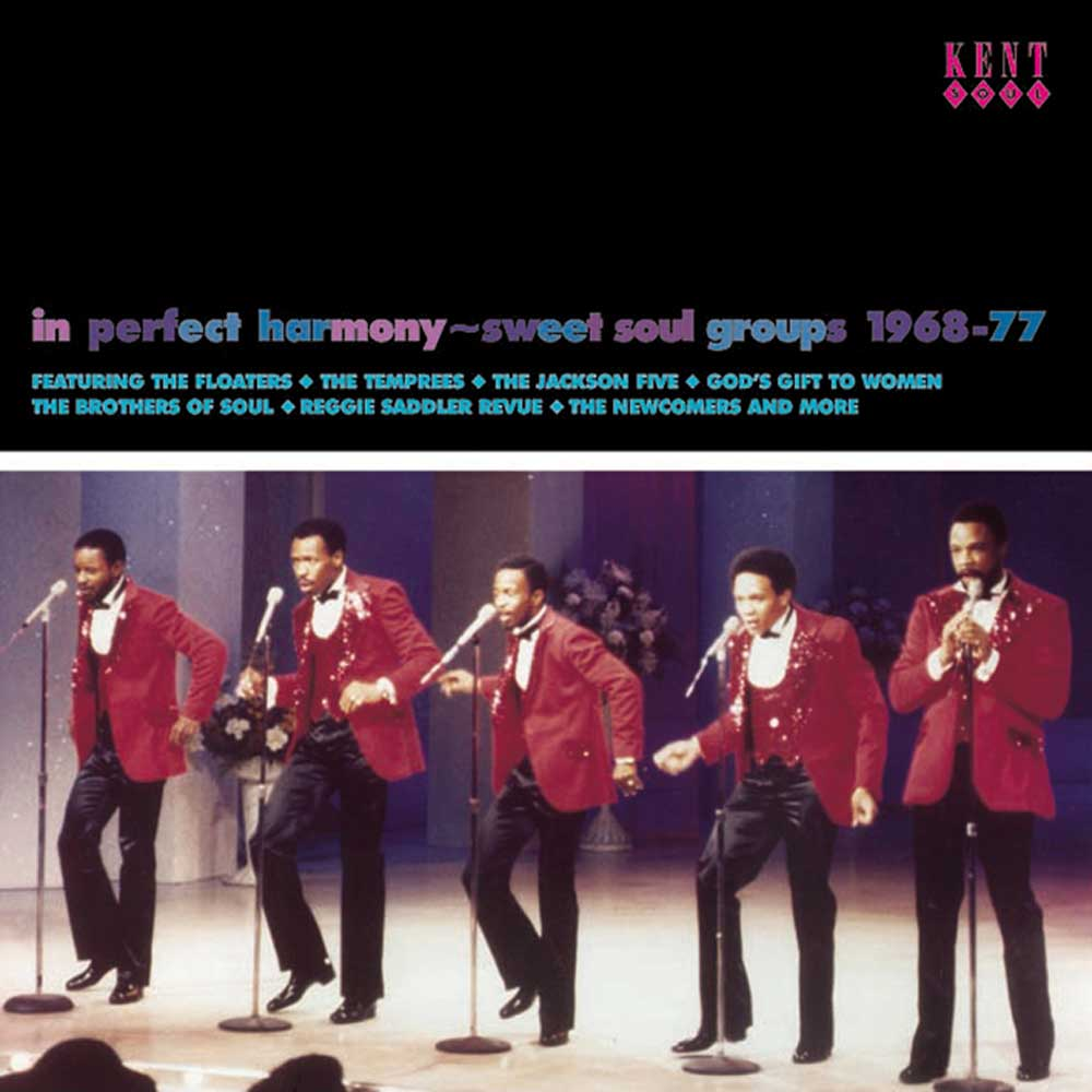 In Perfect Harmony – Sweet Soul Groups 1968-77 – Various Artists CD (Kent)