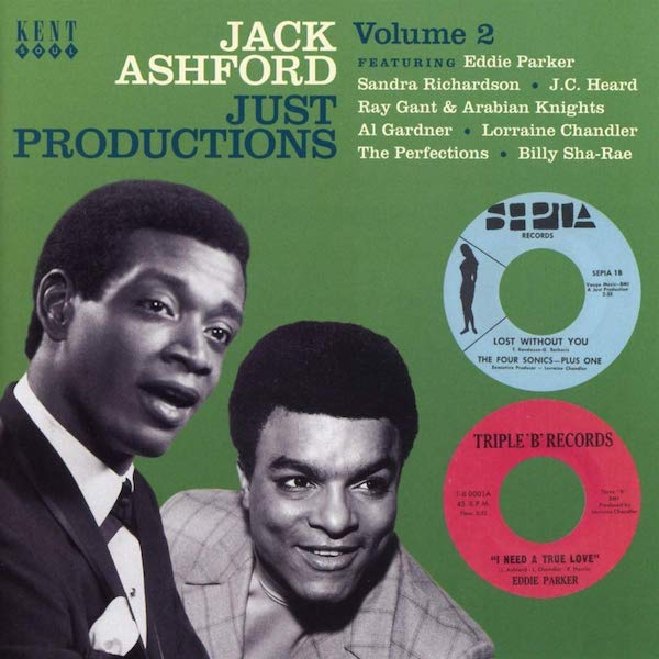 Jack Ashford Just Productions Volume 2 - Various Artists CD (Kent)