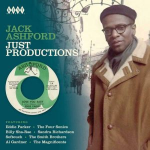 Jack Ashford Just Productions CD
