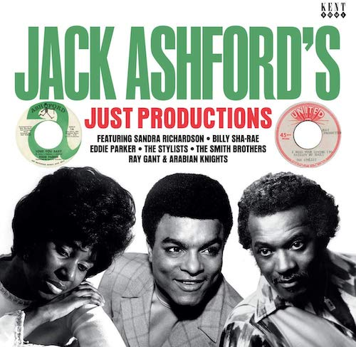 Jack Ashford's Just Productions - Various Artists LP Vinyl (Kent)