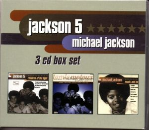 Jackson 5 / Michael Jackson - Triple Set - Children Of The Light / Early Classics / Music And Me 3CD Set