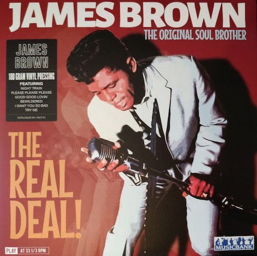 James Brown - The Original Soul Brother - The Real Deal! 180gram LP
