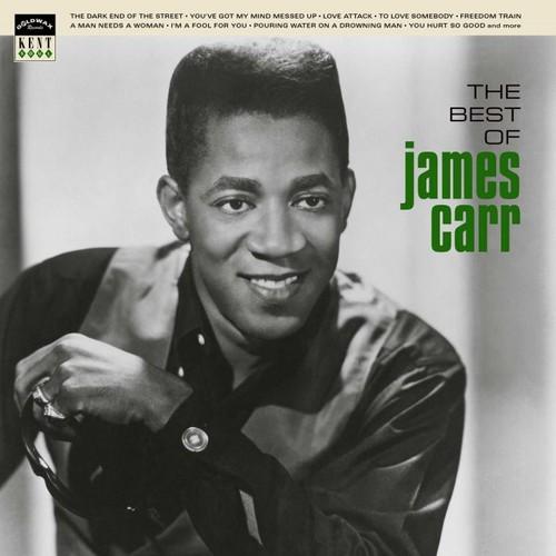 James Carr - The Best Of LP Vinyl (Kent)