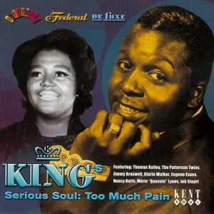 King's Serious Soul: Too Much Pain CD