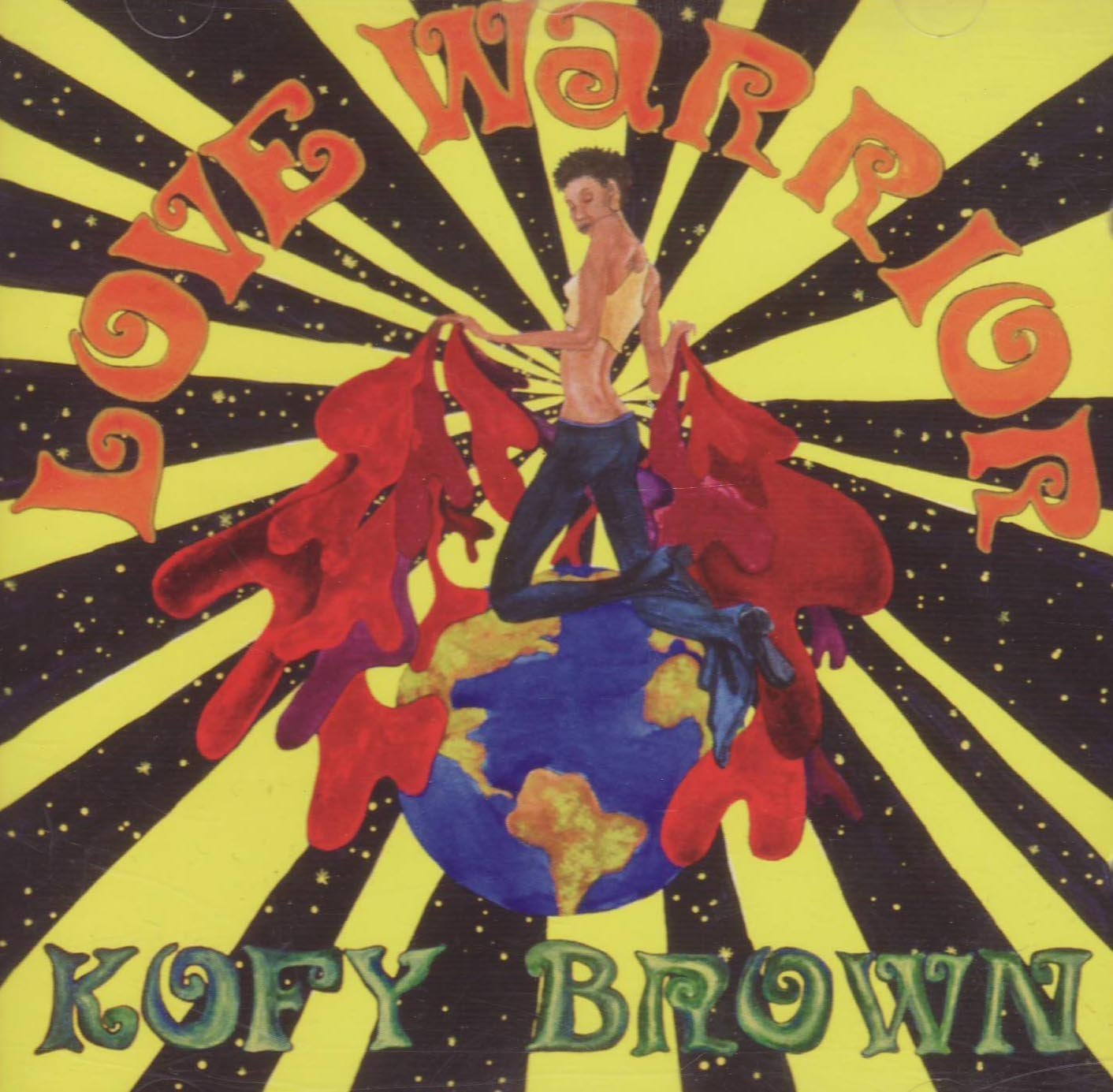Kofy Brown – Love Warrior CD (Soul Brother)