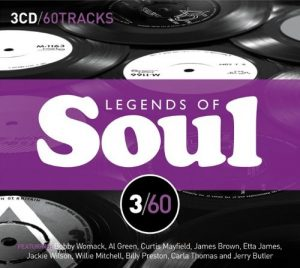 Legends Of Soul 3/60 3X CD