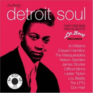 Lou Beatty's Detroit Soul - Various Artists CD (Grapevine)