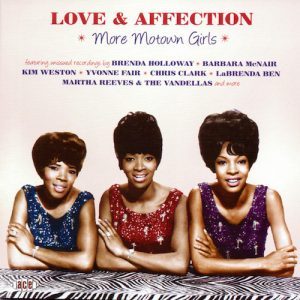 Love And Affection - More Motown Girls CD