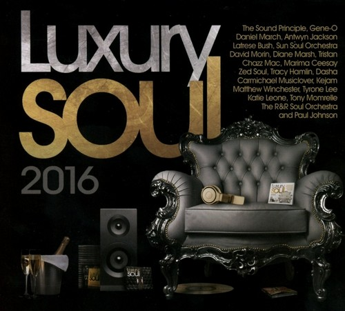 Luxury Soul 2016 - Various Artists 3x CD (Expansion)