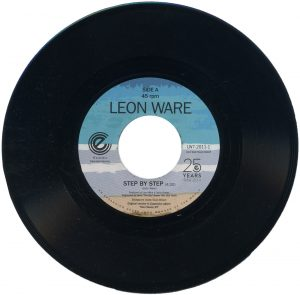 """Leon Ware - Step By Step / On The Beach 45 (Expansion) 7"""" Vinyl"""