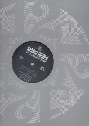 "Mario Biondi - This Is What You Are (Original Mix) / (Opolopo Remix) 12"" Vinyl (Expansion)"