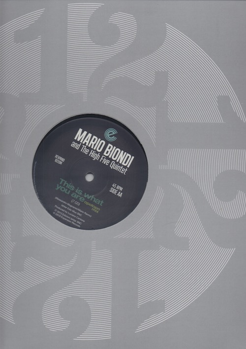 """Mario Biondi - This Is What You Are (Original Mix) / (Opolopo Remix) 12"""" Vinyl (Expansion)"""
