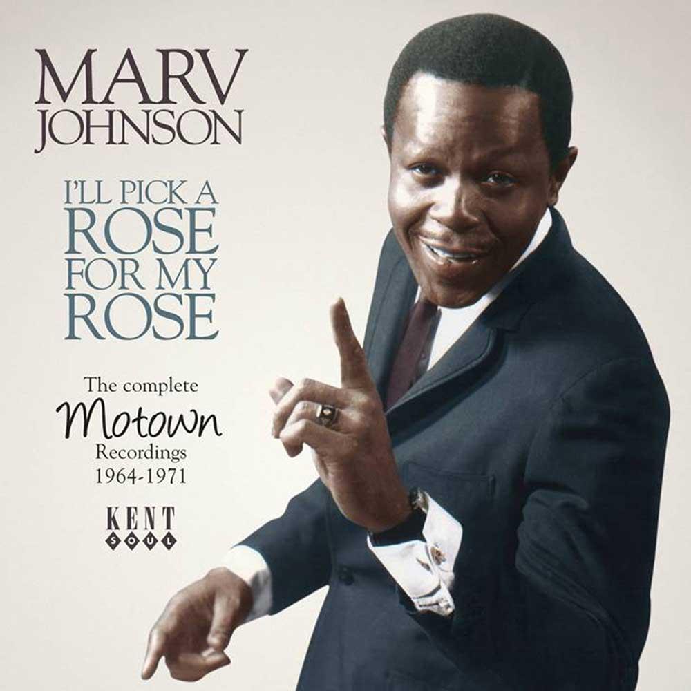 Marv Johnson – I'll Pick A Rose For My Rose CD