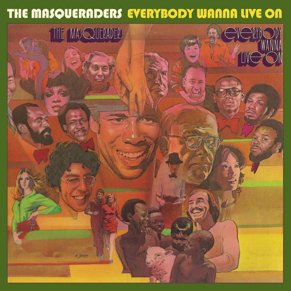 Masqueraders – Everybody Wanna Live On CD (Stax)