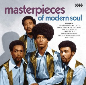 Masterpieces Of Modern Soul Volume 5 - Various Artists CD (Kent)