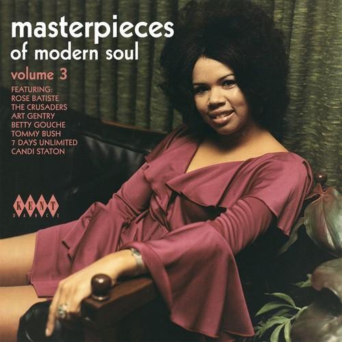 Masterpieces Of Modern Soul Volume 3 - Various Artists CD (Kent)