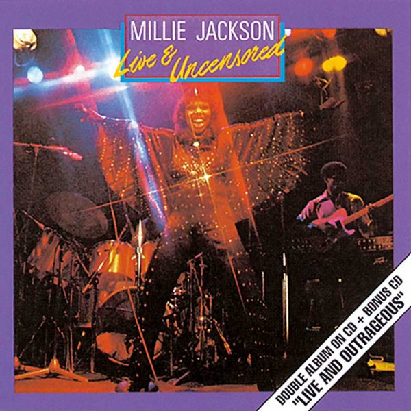 Millie Jackson - Live & Uncensored 2x CD
