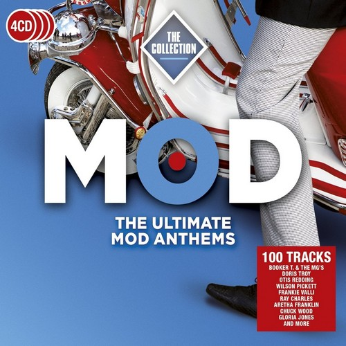 Mod The Collection - The Ultimate Mod Anthems - Various Artists 4x CD (Rhino)