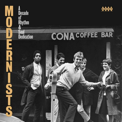 Modernists - A Decade Of Rhythm & Soul Dedication - Various Artists CD (Kent)