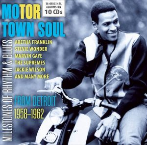 Motor Town Soul From Detroit 1958-1962 10X CD Box Set