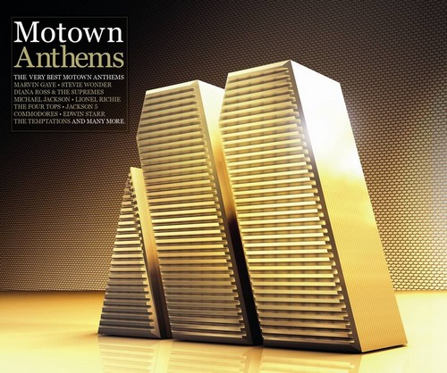 Motown Anthems - The Very Best Motown Anthems - Various Artists 4x CD (Universal)