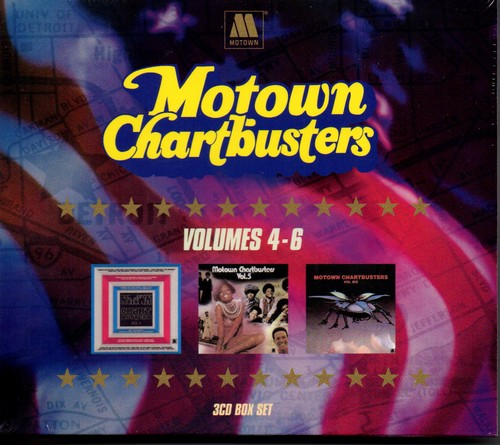 Motown Chartbusters Volumes 4-6 3CD Box Set