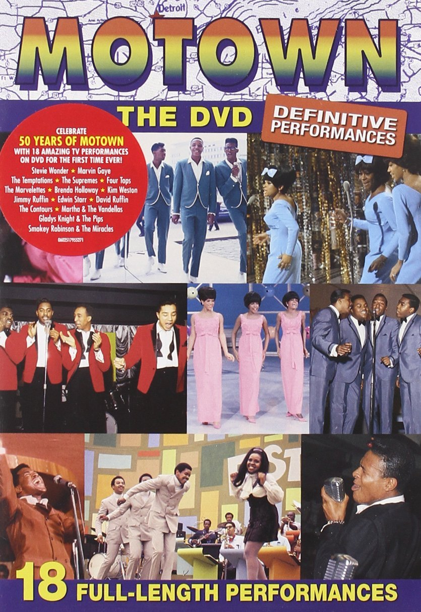 Motown The Dvd – Definitive Performances DVD