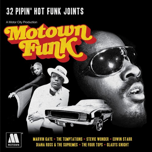 Motown Funk - 32 Pipin' Hot Funk Joints - Various Artists 2X CD (Spectrum)