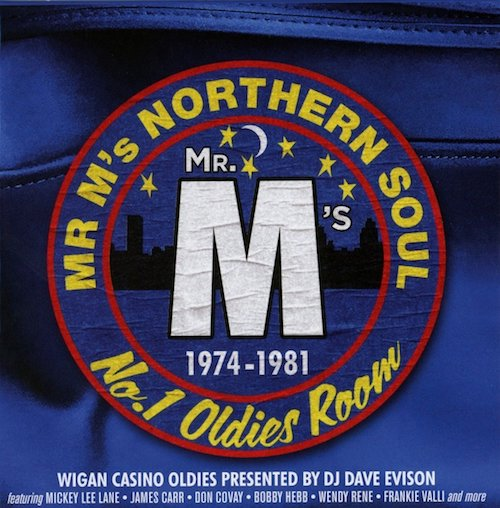 Mr M's Northern Soul 1974-1981 - Wigan Casino Oldies Presented By Dave Evison 3x CD Box Set (Cherry Red)