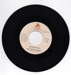 """Billy Butler & Infinity - Whatever's Fair / Lady Lee - Simple Things 45 (Mr Bongo) 7"""" Vinyl"""