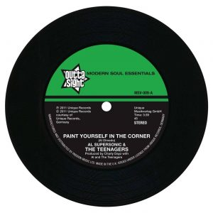 "Paint Yourself In A Corner / It Must Be Love 7""-0"