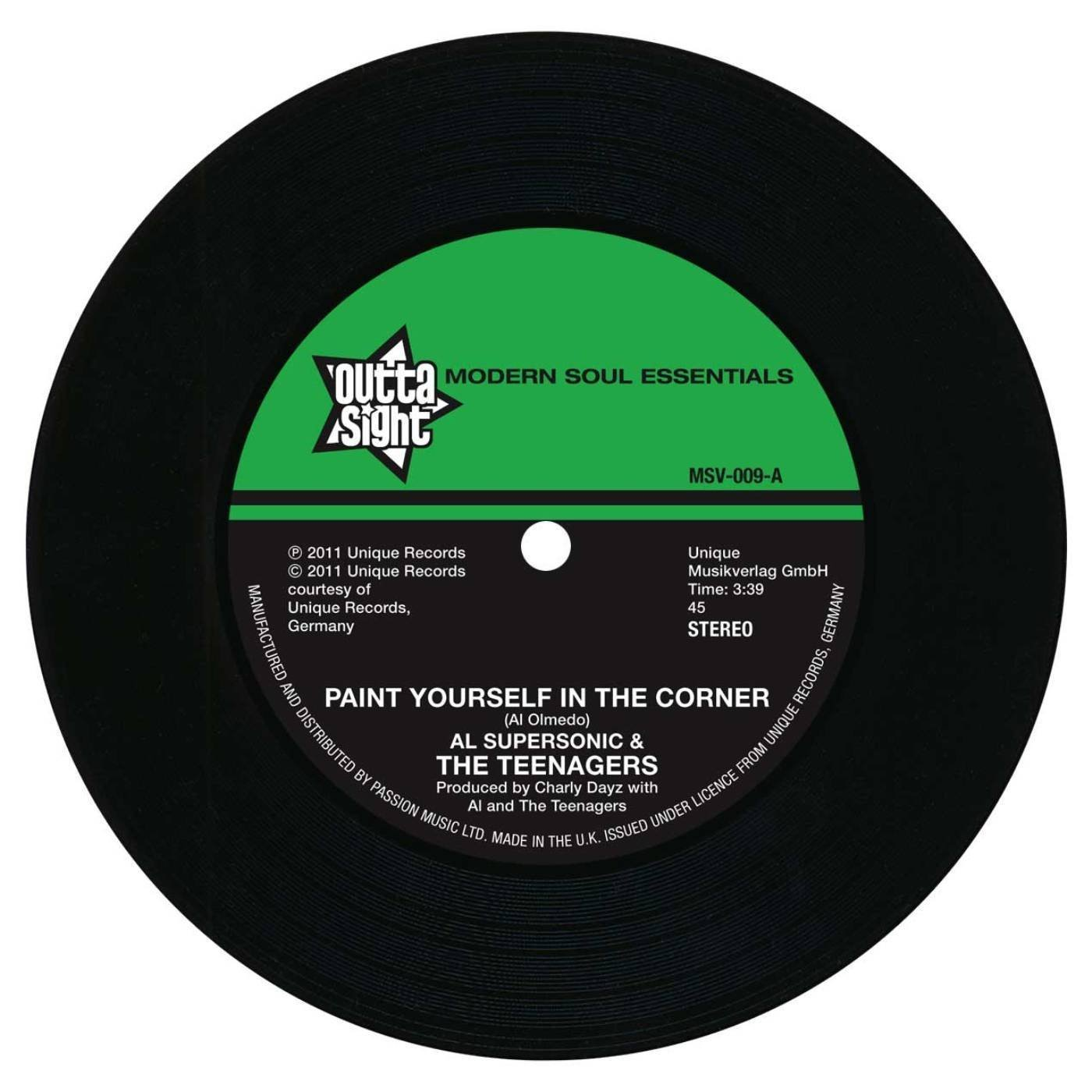 Paint Yourself In A Corner / It Must Be Love 7″-0